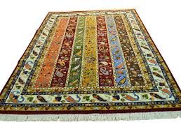 colorful area rugs for home design ideas small colorful round rugs