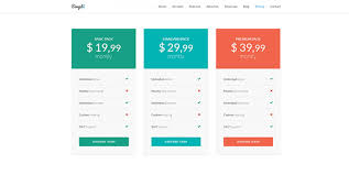 Pricing Table Templates 20 Landing Page Templates With Outstanding Pricing Table