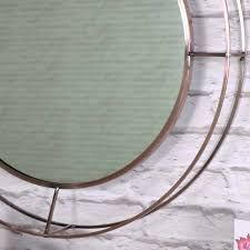 terrific large round wall mirror on copper metal framed kijiji large round wall mirror