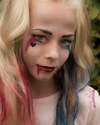 creepy makeup ideas 20 harley quinn 27 y and y makeup ideas
