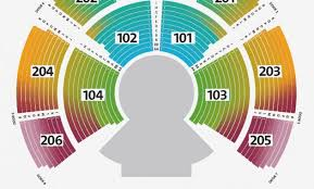 Segerstrom Hall Seating Chart Conclusive Jiffy Lube Seating Chart With Rows Orange County
