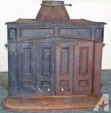 ben franklin fireplace ben franklin cast iron wood burning stove heater fireplace antique