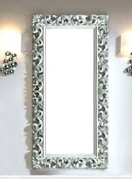 silver wall mirror silver ornate wall mirror inspiration about large ornate mirror in silver colour contemporary silver wall mirror