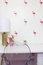 flamingo bird wall decals wall stickers