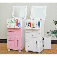 makeup organizer wood. multipurpose furniture makeup organizer beauty dresser mobile vanity luxury cabinet wood