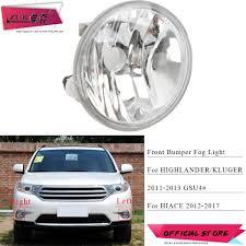 2011 Highlander Fog Light Bulb Us 14 43 22 Off Zuk Fog Light Fog Lamp For Toyota Highlander Kluger Asu40 2011 2013 Hiace Regiusace 2012 2017 Front Bumper Light Oe 81210 0e022 In