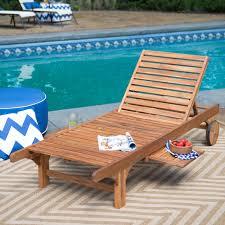 c coast rema wave wood patio chaise lounge dark brown hayneedle