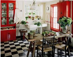 Red Black Kitchen Themes Red And White Country Kitchen Ideas Cliff Kitchen