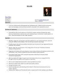 Systems Administrator Resume 15 System Format Resume Sana Khan Aalam