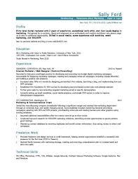 Marketing Resume Resumes Skills Coordinator Summary Sample