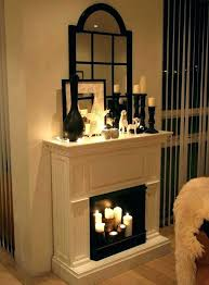 fireplace candle inserts excellent ideas