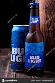 Old Bud Light Logo London February 2019 Glass Bottle Aluminium Can Bud Light