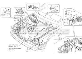 maserati 4 24v order online eurospares maserati 4 24v engine compart electr system lh steer diagram
