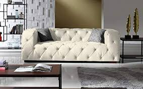 chesterfield sofa in living room. Beautiful Room Large Tufted Real Leather Chesterfield Sofa Classic Living Room Couch  White And Sofa In Y