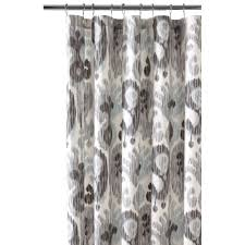 gray and black shower curtain. still water grey shower curtain gray and black