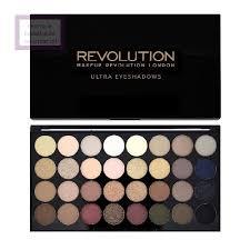 makeup revolution ultra 32 shade eyeshadow palette paleta 32 cieni do oczu cena opinie recenzja kwc