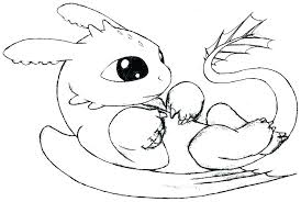 Coloring Pages Stitch Coloring Pages Cute Toothless Dragon Color