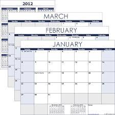 Printable Calendar Vertex42 2013 Printable E Page Excel Monthly