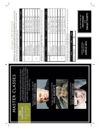 Newmark Theater Portland Seating Chart Ppi Season Brochure 11 12 P5 Portland Piano International