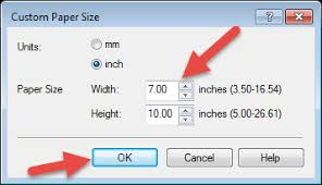 normal picture size how to create user defined paper sizes canon and photoshop elements