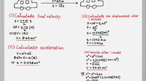 ib physics linear motion and suvat equations unit 2 1
