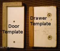 the correct way to drill for cabinetry door handles