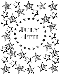 The websites below offer all kinds of coloring hello kids has 18 different coloring pages including innovative designs like the us capitol building wrapped in an american flag, as well as a teddy bear. July 4th Coloring Page With Patriotic Stars And Stripes Mama Likes This