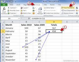 3 Ways To Enter Formulas In Excel 2010 Gilsmethod Com