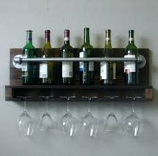 wall mount wine rack wood hanging bottle interior exciting and glass holder shelf mounted 5 pl wall mount wine rack wood mounted glass