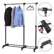 Heavy Duty Coat Rack Adjustable Heavy Duty Garment Rack Rolling Clothes Hanger Extendable 67