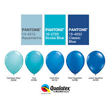 Qualatex Balloons Color Chart The Very Best Balloon Blog Part 2 Working With Colour