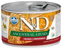 Корм для собак <b>Farmina Консервы N&D</b> Ancestral Grain Mini ...