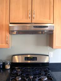 stove vent hood. because we were afraid the right side would not hold much longer found a temporary solution to prop up vent hood until contractors able stove n
