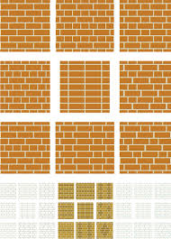Brick Bond Patterns
