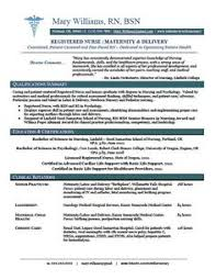 Sample Resume Rn Bsn Pelosleclaire Com