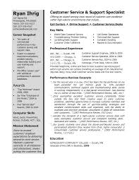 winning resume example examples resumes template