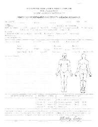 Blank Autopsy Report Template New Coroners Coroner Example
