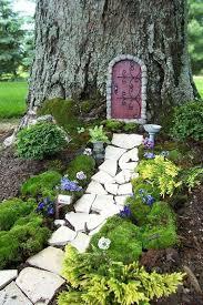 diy large fairy garden ideas
