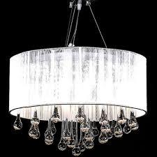 modern magnificent chandelier crystal ceiling light pendant lamp home decor uk