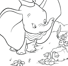 Dumbo Coloring Page Stork Dumbo Can Fly Coloring Page Coloring Pages