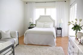 All white master bedroom | House Mix