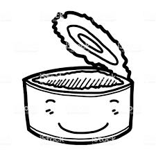 笑顔のブリキ缶 いたずら書きのベクターアート素材や画像を多数ご用意