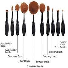 beauty makeup brush set