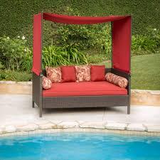 outdoor outdoor mattress for daybed stunning wicker outdoor daybed dark brown finish 36 inch foam