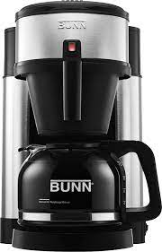 They're always on your counter, always plugged in and always ready to brew the perfect cup of coffee. Bunn Velocity Brew 10 Cup Coffee Maker Stainless Steel Nhsb Best Buy