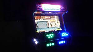4 Player Arcade Cabinet Kit 2 Player Bartop Arcade Youtube