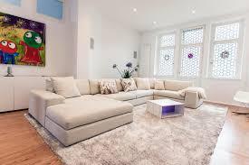 Wohnlandschaft In Weiß Teppich Sofa Wohnlandschaf