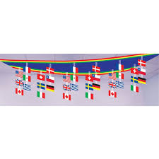 International Party Decorations International Flag Ceiling Decoration