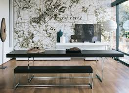 modern dining table with bench. Full Size Of Dining Room Furniture:dining Set With Bench Home Design Ideas Small Modern Table