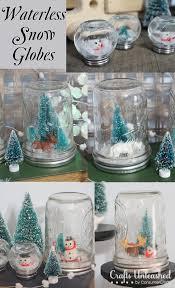 diy waterless snow globes
